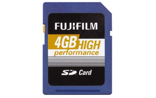 Aperçu 1: FUJIFILM 4GB SDHC KARTE HIGH PERFORMANCE / CLASS 10