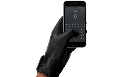 Aperçu 1: Mujjo Leather Touchscreen Gloves L - Gants tactiles pour smartphone