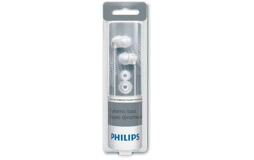 Aperçu 2: PHILIPS SHE3590WT/10 WEIß