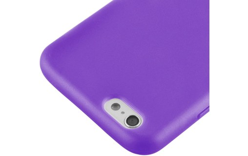 "Aperçu 4: Etui avec Rabat + 3 Films APPLE IPHONE 6 4.7 POUCES ""Jelly Glass"" Violet"