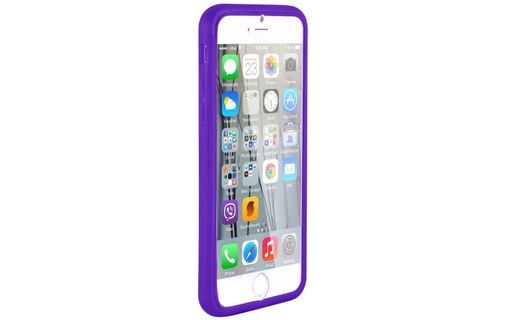 Aperçu 3: Etui avec Rabat Jelly Glass APPLE IPHONE 6 / 6S Violet