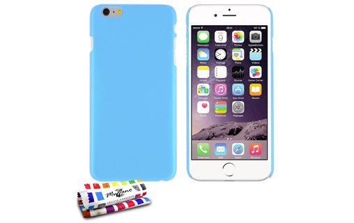 "Aperçu 0: Coque rigide ""Le Pearls"" APPLE IPHONE 6S PLUS Bleu lagon"