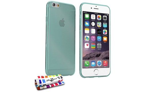 "Aperçu 0: Coque ""Aquarelle"" APPLE IPHONE 6 PLUS Bleu lagon"