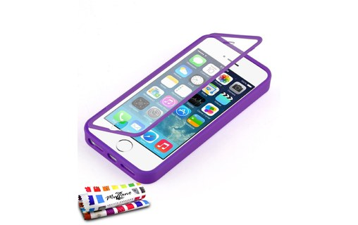 Aperçu 0: Etui avec Rabat Jelly Glass APPLE IPHONE 5S / IPHONE SE Violet
