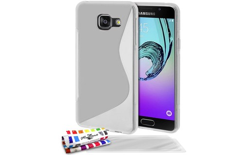 "Aperçu 0: Coque + 3 Films SAMSUNG GALAXY A3 (2016) / A3-6 / A310 ""Le S"" Transparent"