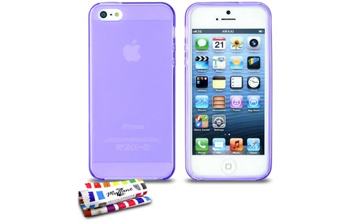 "Aperçu 0: Coque ""Glossy Hybrid"" APPLE IPHONE 5 Violet"