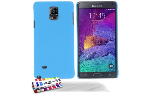 "Aperçu 0: Coque rigide ""Le Pearls"" Bleu lagon + 3 Films SAMSUNG GALAXY NOTE 4"