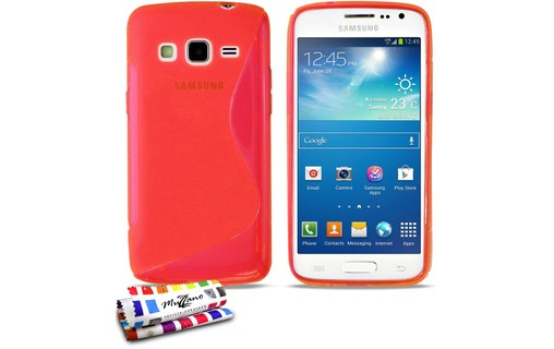 "Aperçu 0: Coque ""Le S"" SAMSUNG G3815 / GALAXY EXPRESS 2 Rouge"
