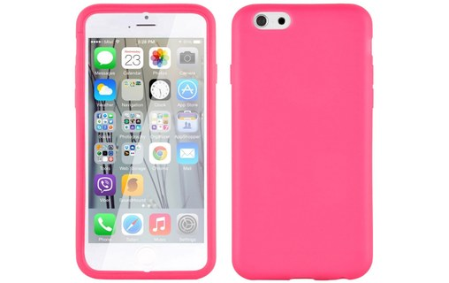 Aperçu 1: Etui avec Rabat Jelly Glass APPLE IPHONE 6 / 6S Rose bonbon