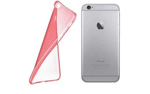 "Aperçu 2: Coque + 3 Films APPLE IPHONE 6 PLUS 5.5 POUCES ""Aquarelle"" Rose bonbon"