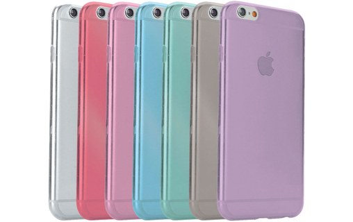 "Aperçu 1: Coque ""Aquarelle"" APPLE IPHONE 6 PLUS 5.5 POUCES Rose bonbon"