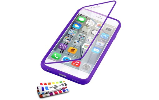 Aperçu 0: Etui avec Rabat Jelly Glass APPLE IPHONE 6 PLUS 5.5 POUCES Violet