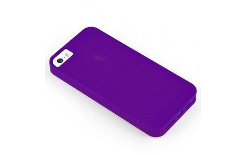 Aperçu 3: Etui avec Rabat Jelly Glass APPLE IPHONE 5 Violet
