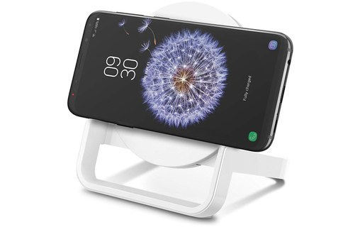 Aperçu 2: Belkin BOOST UP Qi Stand (10 W) Blanc - Support de charge pour smartphone