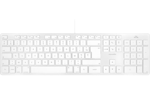 Aperçu 0: Novodio Touch Keyboard - Clavier AZERTY USB Mac