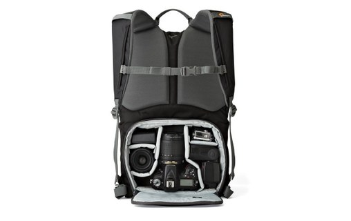 Aperçu 1: LOWEPRO SAC A DOS PRO Photo Hatchback BP 250 AW II Midnight Bleu et Gris